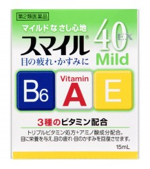 Lion smile 40 ex mild витаминизированные капли для глаз
