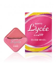 Rohto Lycee - Мягкие капли для девушек, снимают усталость и увлажняют