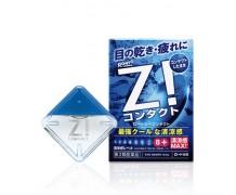 Rohto Z! Сontact - Суперосвежающие капли от усталости, для контактных линз