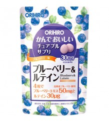 Orihiro blueberry and lutein ( черника и лютеин)