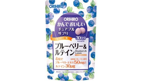 Orihiro blueberry and lutein( 120 таб)