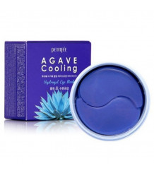 Petitfee Agave Cooling Hydrogel Eye Mask - Гидрогелевые патчи для глаз с охлаждающим эффектом, 60 шт