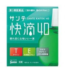 Sante 40 Kaiteki - Предотвращают старение глаз, снимают усталость и красноту