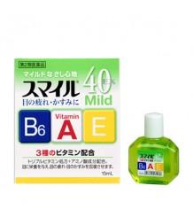Lion Smile 40 EX mild  - мягкие витаминизированные капли для глаз с аминокислотами