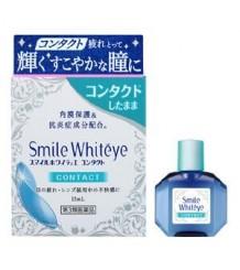 Lion Smile Whiteye Contact - глазные капли, избавляют от дискомфорта ношения контактных линз