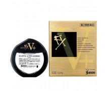 Sante Fx V +  освежающие японские капли для глаз от усталости, с таурином и витамином B6