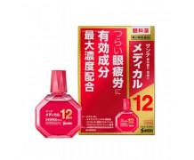 Sante Medical 12 - японские капли для глаз с максимальной концентрацией витаминов и компонентов