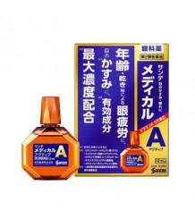 Sante Medical Active - японские глазные капли, разработаны для борьбы с возрастными изменениями