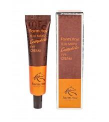 FarmStay JEJU MAYU Complete EYE CREAM Крем для кожи вокруг глаз с лошадиным маслом 45 гр.
