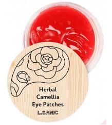 L.Sanic Herbal Camellia - Гидрогелевые патчи с экстрактом японской камелии.