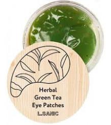 L.Sanic Herbal Green Tea - Гидрогелевые патчи с экстрактом зеленого чая.