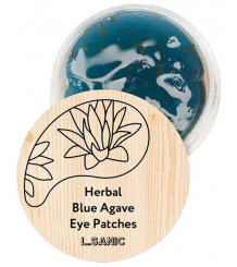 L.Sanic Herbal Blue Agave - Гидрогелевые патчи с экстрактом голубой агавы.