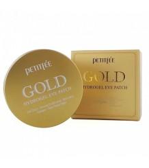Petitfee Gold Hydrogel Eye Patch - Гидрогелевые патчи для глаз с 24-каратным коллоидным золотом, 60 шт.