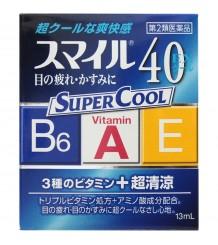 Lion Smile 40 Super Cool - Суперосвежающие капли с витаминами от усталости