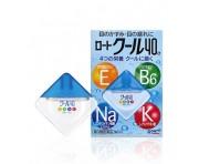 Rohto Cool 40a - Освежающие капли с 4-мя витаминами и аминокислотами