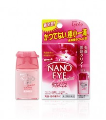 Rohto Nano Eye Pink - Мягкие гелевые капли, подарят свежесть глазам