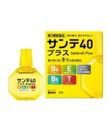 Sante 40 plus - мягкие витаминные возрастные капли для глаз